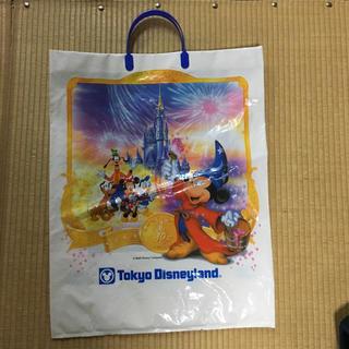 ディズニー(Disney)の10周年 ディズニーランド 手提げ袋(ショップ袋)