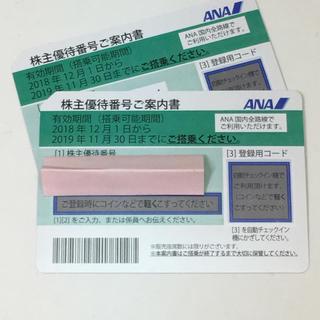 ANA株主優待券  2枚 (航空券)