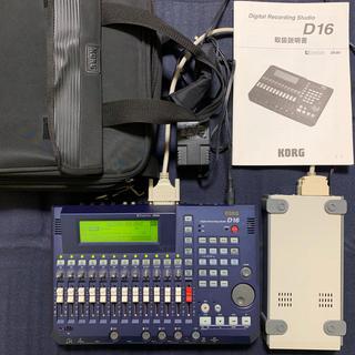 コルグ(KORG)のKORG MTR D16、外付HDD、キャリングバック付きセット 中古(MTR)