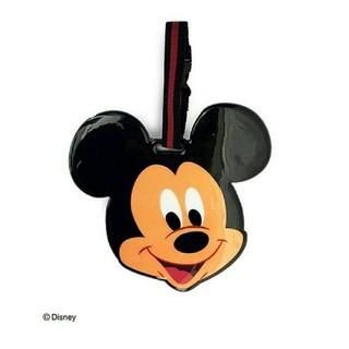 ディズニー(Disney)のディズニー パスケース ラゲッジタグ ミッキー ミニー 2つセット(キャラクターグッズ)