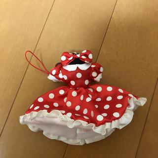ディズニー(Disney)のミニーちゃん ドレスキーホルダー(キーホルダー)