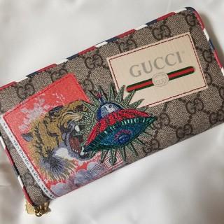 グッチ(Gucci)のGUCCI クーリエ(長財布)