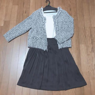 入学式 卒業式 フォーマルスーツ ジャケット スカート セット(スーツ)