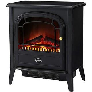 新品未開封 電気暖炉 オプティフレーム アークリー ブラック AKL12J(電気ヒーター)