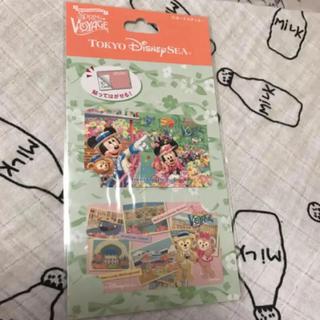 ディズニー(Disney)のディズニーシー スプリングヴォャッジ ICカード ステッカー(キャラクターグッズ)