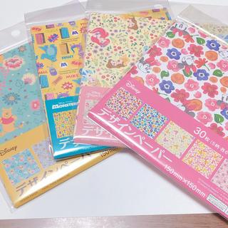 ディズニー(Disney)のディズニー デザインペーパーセット(ノート/メモ帳/ふせん)
