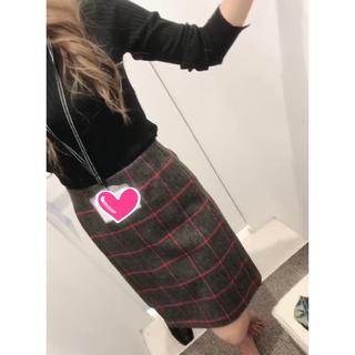 クミキョク(kumikyoku(組曲))の組曲 スカート チェック(ひざ丈スカート)