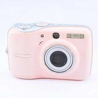 キヤノン(Canon)のキャノン PowerShot E カメラ ピンクカメラ デジカメ 可愛い(コンパクトデジタルカメラ)
