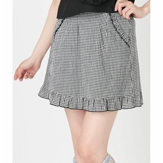 merry jenny - ギンガムチェックのミニスカート