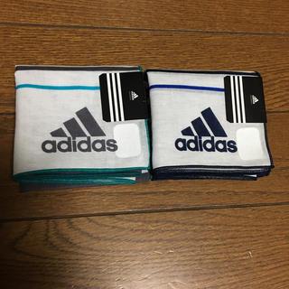 アディダス(adidas)のハンカチ アディダス 2枚☆新品☆(その他)