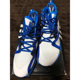 アディダス(adidas)のアディダス スニーカー アジゼロ バッシュ スポーツ 新品 24㎝(スニーカー)