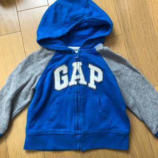 ベビーギャップ(babyGAP)のbabyGAP ロゴパーカー(ジャケット/上着)