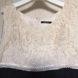 シマムラ(しまむら)の新品未使用✴︎パーティードレス✴︎ Lサイズ(ミディアムドレス)
