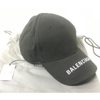 バレンシアガ(Balenciaga)のBALENCIAGA ロゴ刺繍ベースボールキャップ 新品タグ付き(キャップ)