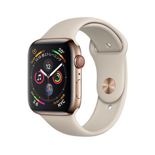 アップルウォッチ(Apple Watch)のApple Watch Series4ゴールド ステンレススチールケース40mm(その他)