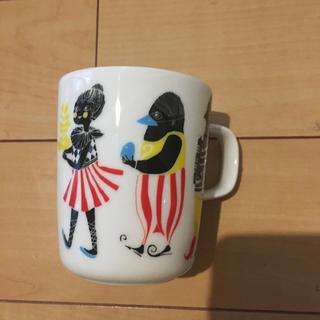 マリメッコ(marimekko)のマリメッコ 廃盤 クルクエ マグカップ(食器)