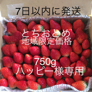 とちおとめ 750g(フルーツ)