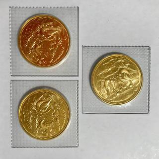 天皇陛下御在位60年記念 10万円金貨(貨幣)