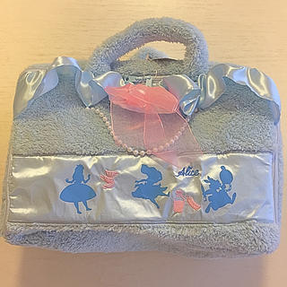 ディズニー(Disney)のディズニー プリンセス アリス もこもこ バッグ トランク(キャラクターグッズ)