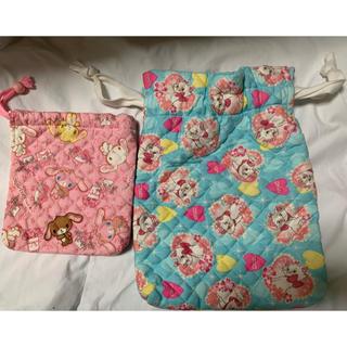ディズニー(Disney)のハンドメイド 巾着袋(幼児用)(その他)