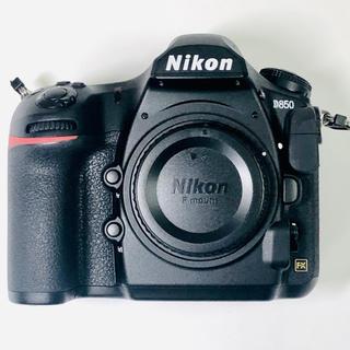 Nikon - ニコン NIKON D850 ボディ 美品 メーカー保証残あり