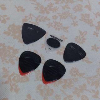 ギター ベース ピック 5枚セット