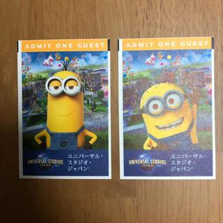 ユニバーサルスタジオジャパンチケット2枚(遊園地/テーマパーク)