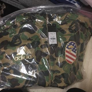 アディダス(adidas)のBapexAdidas Track Jacket sz M(テーラードジャケット)