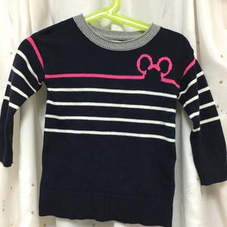 ベビーギャップ(babyGAP)のニット セーター 90センチ ミッキー ディズニー 美品(ニット)