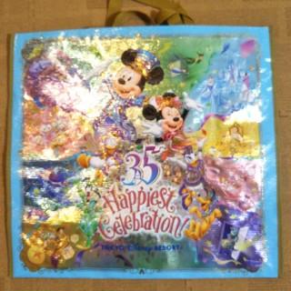 ディズニー(Disney)のディズニー ショッピングバッグM 新品未使用 送料無料(ショップ袋)