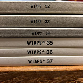 W)taps - WTAPS カタログ6冊セット