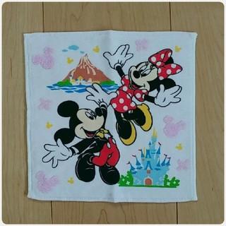 ディズニー(Disney)のミッキー&ミニー ハンドタオル(その他)