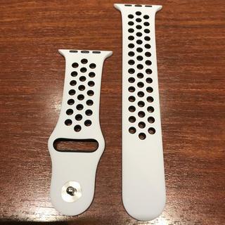 アップルウォッチ(Apple Watch)の(純正品) Apple Watch NIKE バンド 42mm(ラバーベルト)