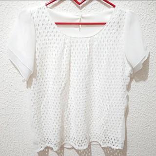 シマムラ(しまむら)のしまむら ブラウス♥️Mサイズ GU ハニーズ(シャツ/ブラウス(半袖/袖なし))