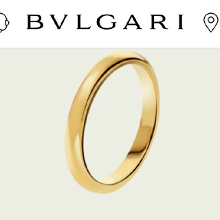 ブルガリ(BVLGARI)の留仁さま BVLGARI ゴールド リング(リング(指輪))