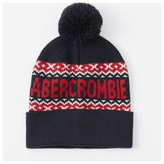 アバクロンビーアンドフィッチ(Abercrombie&Fitch)の◎新品正規品◎アバクロ◎Abercombie&Fitch◎ニット帽◎送料込 (ニット帽/ビーニー)