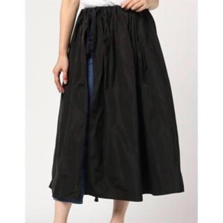 ドレスレイブ(DRESSLAVE)の【新品 未使用】 ドレスレイブ ラップ スカート ブラック(ロングスカート)