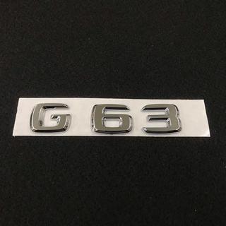 ベンツ リア エンブレム G63 w463  Gクラス AMG 社外品(車種別パーツ)