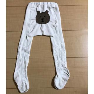 ベビーギャップ(babyGAP)のbaby gap くまさんタイツ 12~24M(靴下/タイツ)
