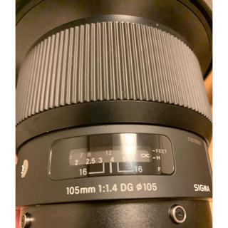シグマ(SIGMA)のSIGMA 105mm f1.4 ART(レンズ(単焦点))