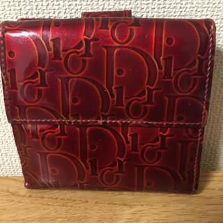 クリスチャンディオール(Christian Dior)の【鑑定済】正規Dior Wホック財布(財布)