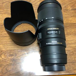 シグマ(SIGMA)のシグマ70-200mm F2.8 EX DG OS HSM ニコン用(レンズ(ズーム))