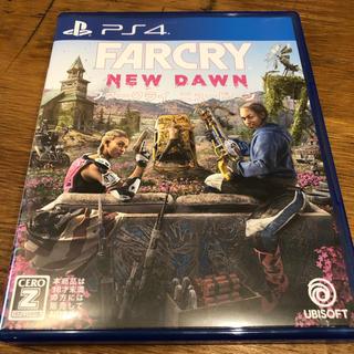 プレイステーション4(PlayStation4)のPS4 ファークライ ニュードーン 初回コード付き 中古美品(家庭用ゲームソフト)
