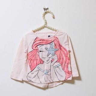 ベビーギャップ(babyGAP)のbabyGAP♡新品♡80♡激かわ♡アリエルの長袖Tシャツ(Tシャツ)