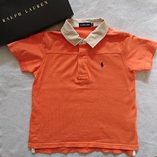 ラルフローレン(Ralph Lauren)のラルフローレン 110cm オレンジ ポロシャツ(Tシャツ/カットソー)