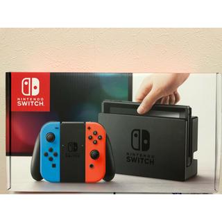 ニンテンドースイッチ(Nintendo Switch)の【新品】任天堂 switch 本体(家庭用ゲーム本体)