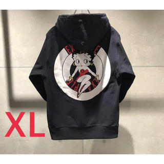 EXAMPLE x BETTY BOOP LOGO PULLOVER PK(パーカー)