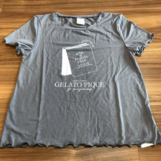 ジェラートピケ(gelato pique)のジェラピケ Tシャツ(ルームウェア)