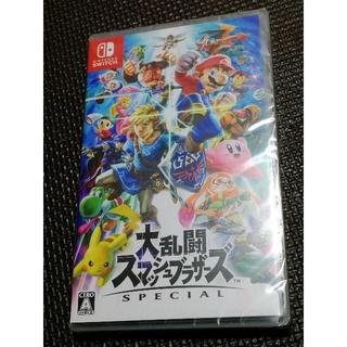 ニンテンドースイッチ(Nintendo Switch)の新品 Nintendo Switch 大乱闘スマッシュブラザーズ SPECIAL(家庭用ゲームソフト)