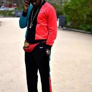 シュプリーム(Supreme)のVelour zip up jacket L   Velour pant M (ジャージ)